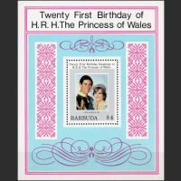 Барбуда. День рождения Принцессы Дианы