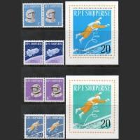 Албания. Советские космонавты (MVLH)