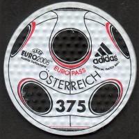 Австрия. Чемпионат Европы по футболу (марка на синтетической основе)
