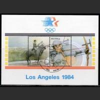 Бельгия. Олимпийские игры в Лос-Анжелесе