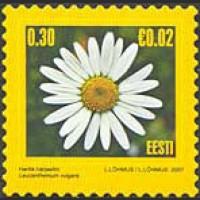 Стандартный выпуск. Цветы (на самоклеящейся основе)