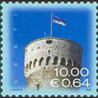 Эстонский национальный флаг