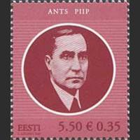 125 лет со дня рождения государственного деятеля Эстонии А. Пийпа