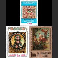 Перевернутая надпечатка новых номиналов на марках предыдущих выпусков