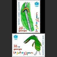 50 лет ЮНИСЕФ. Детские рисунки