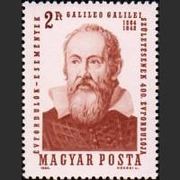 Венгрия. 400-летие со дня рождения Галилео Галилея