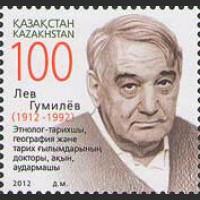 100 лет со дня рождения ученого Л. Гумилева