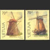 Ветряные мельницы (мелованная бумага)