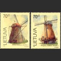 Ветряные мельницы (простая бумага)