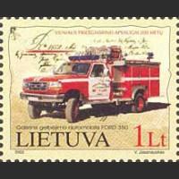 200 лет пожарной станции в Вильнюсе