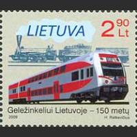 150 лет железной дороге в Литве