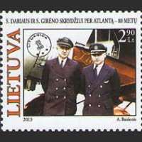 80 лет трансатлантическому перелету