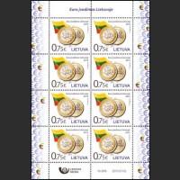 Введение в Литве евро