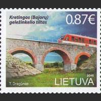 Железнодорожный мост в Кретинге