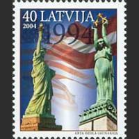 10 лет визита Президента США в Латвию