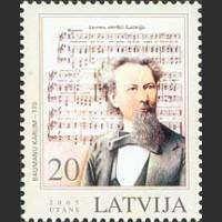 170 лет композитору К. Бауманису