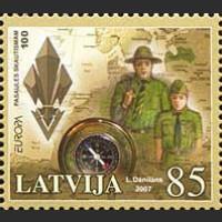 EUROPA. 100  лет скаутскому движению