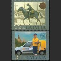 375 лет почты Латвии
