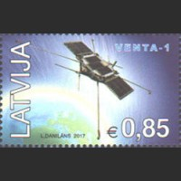 """Первый латвийский спутник """"Venta-1"""""""