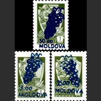 Надпечатка нового номинала на стандартных марках СССР