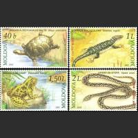Рептилии, занесенные в Красную книгу Молдовы