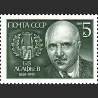 100 лет со дня рождения Б.В. Асафьева