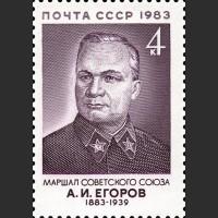 100 лет со дня рождения А.И. Егорова