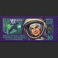 20 лет космического полета В.В. Терешковой