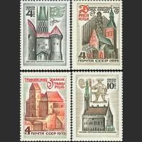 Историко-архитектурные памятники Прибалтийских республик