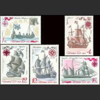 История отечественного флота. Парусные военно-морские суда