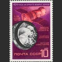 """Космический полет на корабле """"Союз-9"""""""