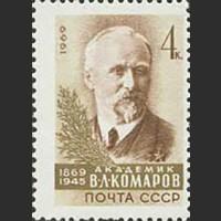 100 лет со дня рождения академика В.Л. Комарова