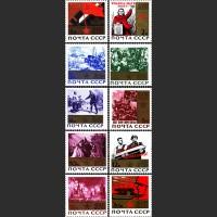 20 лет Победе советского народа в Великой Отечественной войне (с золотистой плашкой)